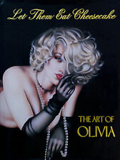 LET THEM EAT CHEESECAKE THE ART OF OLIVIA JUL 1993 HARDCOVER 1ST ED NEW RARE