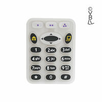 Plastic Rubber Keypad Refurbish Replacement for Motorola XTS5000 RADIO