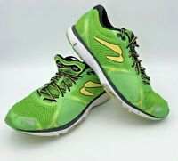 Newton M 011517 Fate 3 Mens 4.5 Green Yellow Black Size 12 Running Shoes