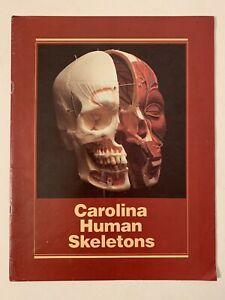 Vtg 1982 Carolina Human Skeletons Catalog Bones Skulls Brain Biological Supply