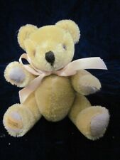 """Merry Thought Miniature Mohair Jointed Teddy Bear 6"""""""