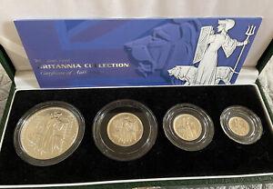 2001 silver Proof britannia Collection