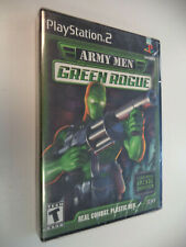 Army Men: Green Rogue (Sony PlayStation 2, 2001) BRAND NEW FACTORY SEALED