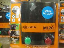 Gallagher - M120 Energizer - 1.2 Joules - 15 Miles/ 60 Acres