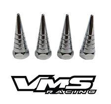 VMS BILLET ALUMINUM CHROME H22 H22A VTEC VALVE COVER SPIRAL SPIKE NUTS 8 PCS