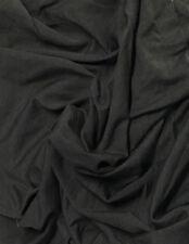 Bamboo Cotton Lycra Jersey Knit Fabric Eco-Friendly 4ways spandex -Gunmetal Gray