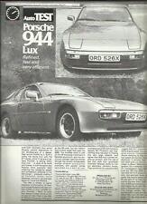 """Citroen ami 8 van commercial motor essai routier réimpression """"voiture brochure"""" avril 1970"""