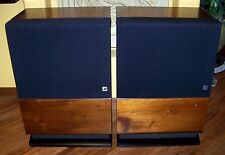 ELECTRO-VOICE INTERFACE D SERIES II SPEAKERS WALNUT CABINETS EXCELLENT CONDITION