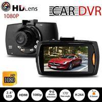 HD 1080p coche DVR vehiculo camara grabadora de video Dash Cam G - sensor de RP