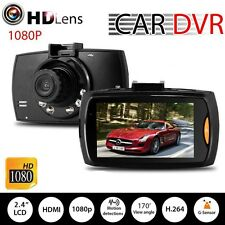 HD 1080P Auto Car DVR Camera Dash Video Recorder LCD G-sensor Night Vision @P