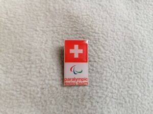 Tokyo 2020 - Swiss Paralympic Committee pin model-3