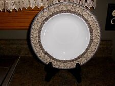 SET OF 4 MIKASA STUDIO NOVA LARGE RIMMED SOUP BOWLS COURTYARD THESE LOOK NEW