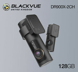 BlackVue Dash Cam DR900X-2CH 4K Front and Rear Wi-Fi GPS (128GB) - NEW