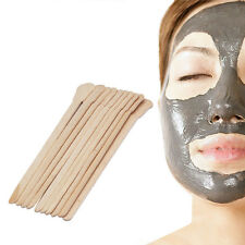 10 PCS Body Face Hair Removing Wax Wooden Waxing Disposable Bamboo Sticks