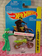 Case L/M 2015 i Hot Wheels HW450F motorcross bike #81∞Sublime Green∞HW Off-Road