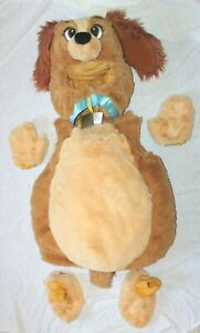 Disney Store Lady & The Tramp Plush Puppy Dog Halloween Costume 18-24 Months EUC