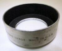 Tiffen 44mm Metal Lens Hood Shade screw in type Male threads series 6 VI