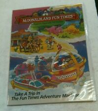 Vintage McDonaldland Fun Times Issue 1