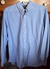 RALPH LAUREN CUSTOM FIT L/S SHIRT LARGE Button down collar 100% Cotton