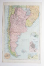 Antique South American Maps & Atlases Falkland Islands