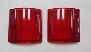 Tail Light Lens Set For Chevrolet C10 C20 Pick-Up Truck - NEW #823