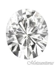 Loose Oval Forever Classic 10x8 mm Moissanite = 3 CT Diamond with Certificate