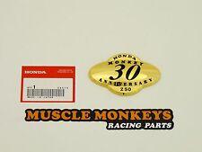 HONDA Monkey Emblem gold Seitendeckel 30 Jahre Monkey NEU!