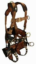 Falltech 7084L Tower Climbing Harness with Seat & Back Support L