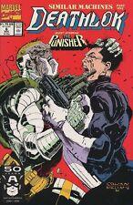 Deathlok 6 Punisher Marvel 1991 Series Nm