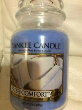 Yankee Candle Fresh Comfort Large Jar 22oz Blue Free Shipping  Spring
