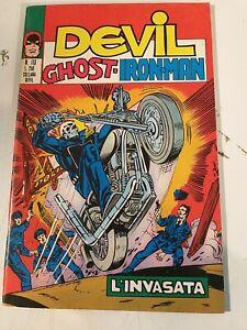 Devil N.59-60 113 - Editorial Corno 5/9/1974 - Número Llave Marvel - Rrr -