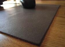 Discreto Lederpad Alfombrilla de ratón en marrón 18,5 x 26,5 cm muy buen