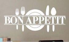 Bon Appetit Küchen Koch Wandtattoo Wallpaper Wand Schmuck 57 x 74 cm