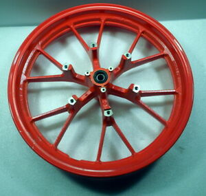 Vorderradfelge Yamaha MT-125, Ice-Fluo, rot, Kratzer