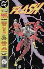 The Flash Annual No.3 / 1989 William Messner-Loebs John Koch & Tim Dzon