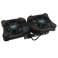 Portable Octopus Shape Laptop Notebook USB Cooling 2 Fans Cooler Pad Black