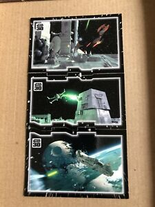 Star Wars 30th Anniversary Topps Tryptich 3 Card Puzzle Set, Insurmountable Odds