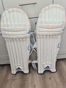 Adidas youth cricket pads