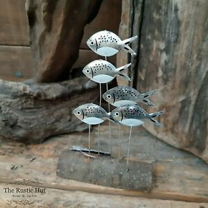 SMALL Silver Bream Standing Decoration Ornament by Shoeless Joe, Coastal Fish