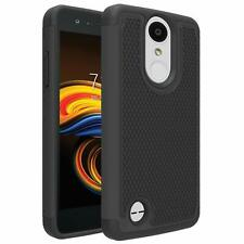 LG Aristo LG Rebel 3 LTE Case Shockproof Hybrid Dual Layer Defender Cover NEW l