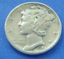 Verenigde Staten - USA : 1944 S dime, 10 cents 1944 S, Silver - KM# 140