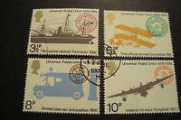 GB 1974 Commemorative Stamps~UPU~Fine Used Set~ex fdc~UK Seller