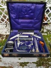 More details for here we have a victorian klinostik full nose and throat medical examination kit