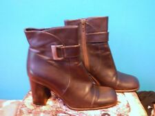 Bally Shoes Block Heel Ankle Boots for Women