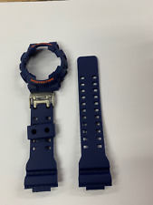Casio Original G-Shock Band GA-110FC-2A  Color Blue Band And Bezel GA110 GA-100