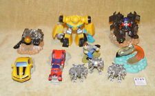 COLLECTION JOBLOT 10x TRANSFORMERS PLASTIC PVC COLLECTABLE ACTION FIGURES HASBRO