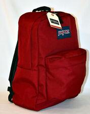 New JanSport SuperBreak Backpack -- Viking Red