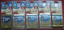 100 Stickers Panini 20 Pack FOOTBALL WORLD CUP 2018 RUSSIA official product