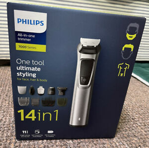 Philips 14-in-1 All-In-One Trimmer, Premium Series 7000 Grooming Kit, Face