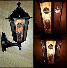 Guinness light Guinness  replica lantern Wall Lantern pub LED bar light man cave